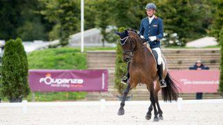 Paralympische Spelen. Frank Hosmar behaalde al eerder een bronzen medaille en droeg ook bij aan het brons voor het team met Alphaville NOP. foto: FEI | JON STROUT