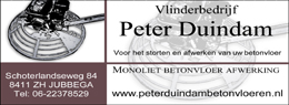 Peter Duindam betonvloeren