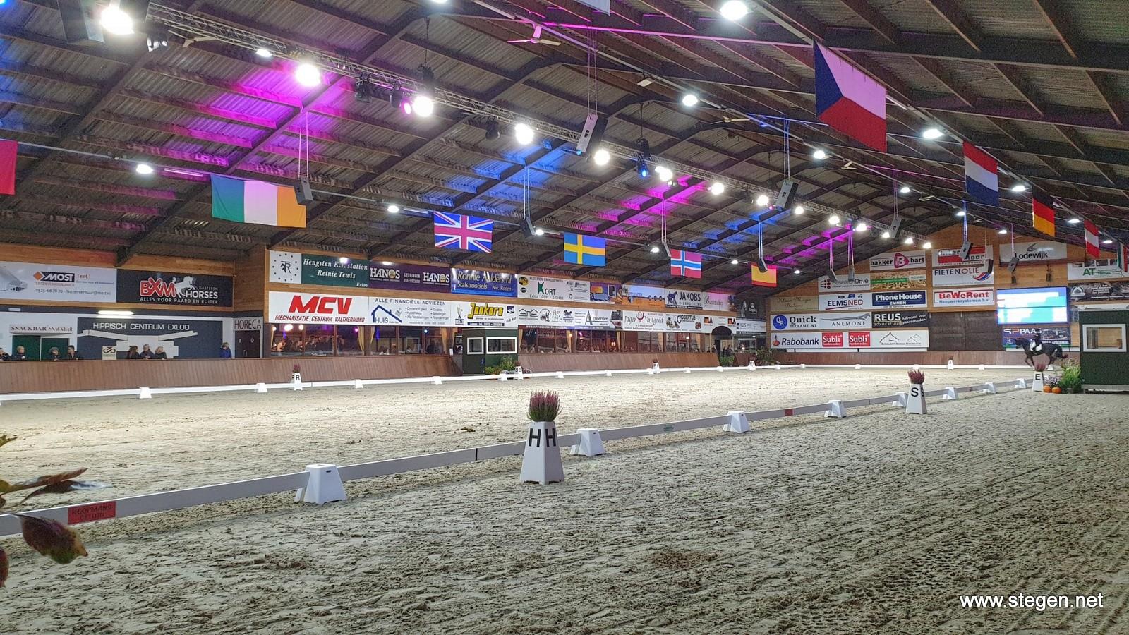 KNHS-Roelofsen Horse Trucks Dressuur Competitie naar Exloo en Tolbert