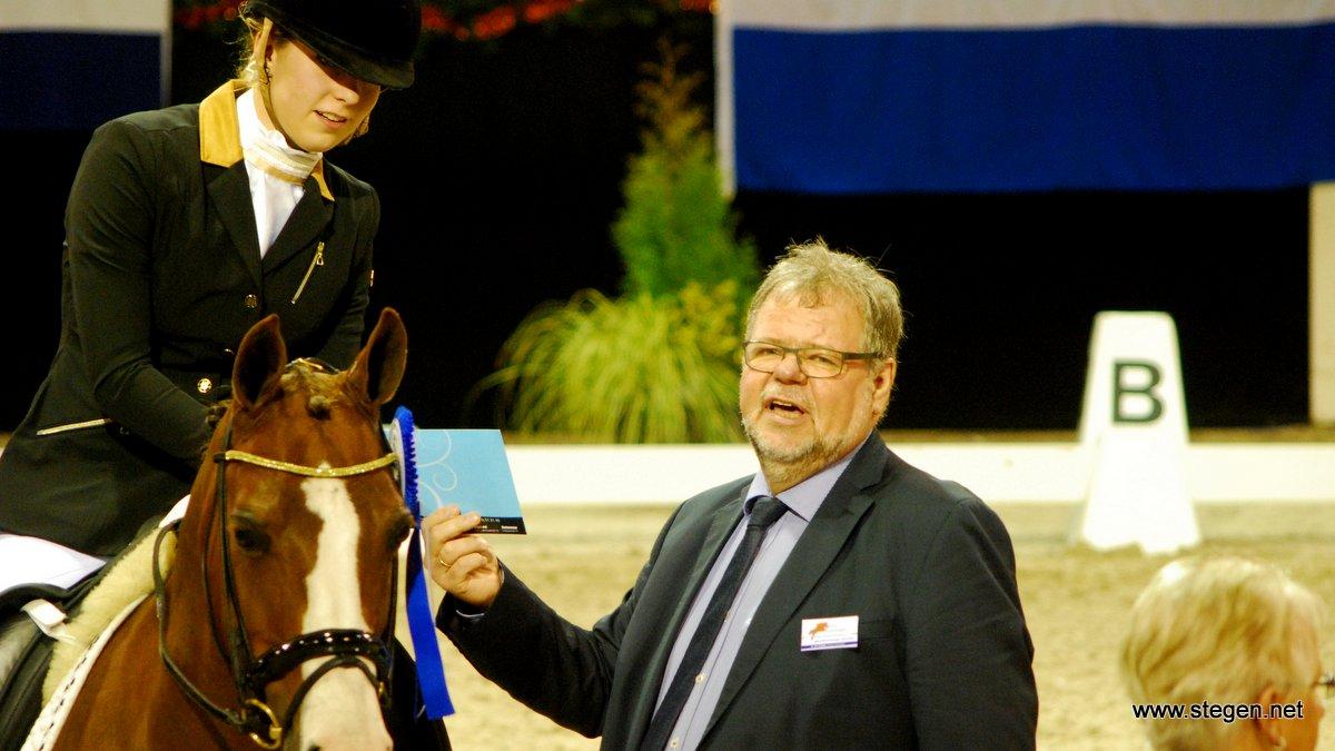 Voorzitter Aaldert de Vrieze van Indoor Groningen.