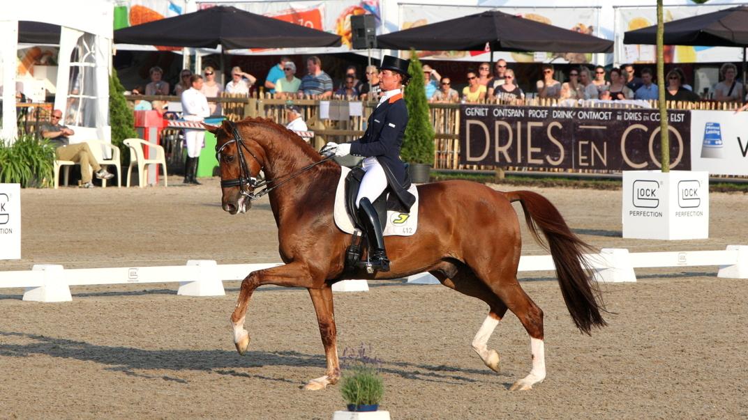 Dressuurlegende Parzival neemt afscheid tijdens Indoor Brabant