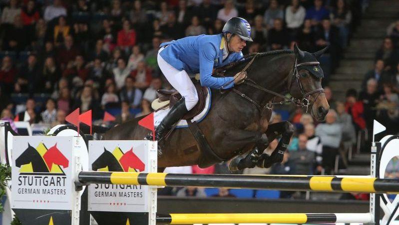 Christian Ahlmann de beste in wereldbeker Stuttgart