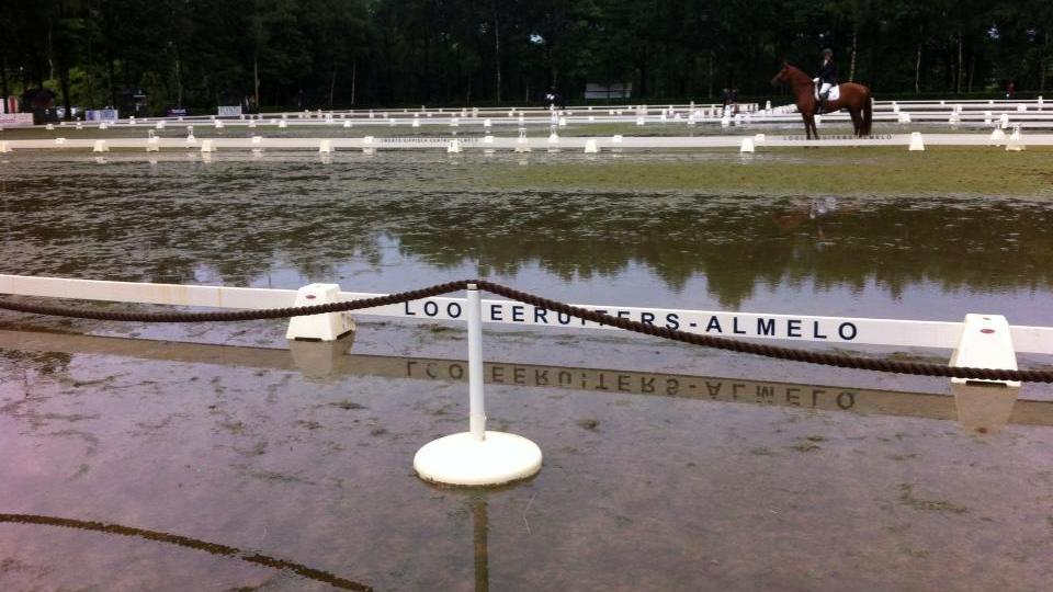 Alemlose Ruiterdagen wateroverlast noodweer