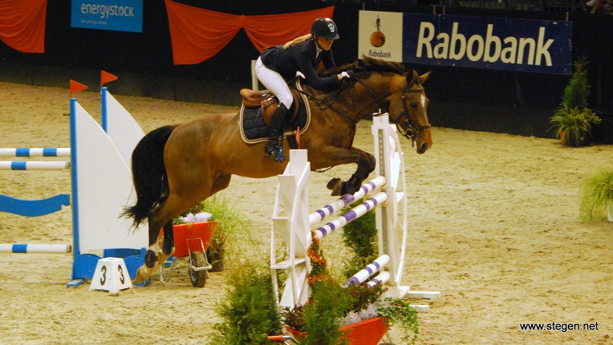 Opnieuw zege Amanda Slagter bij Indoor Groningen, 'alles paste vandaag'
