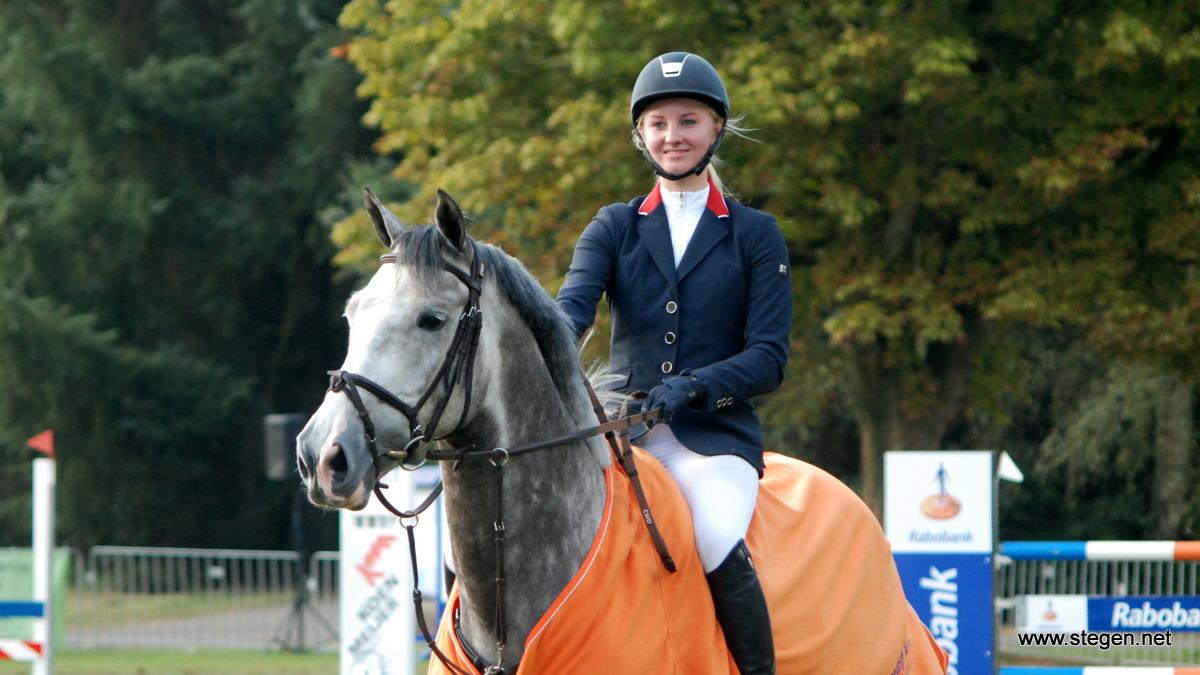 Amber Meijer naar dubbele winst op CH Parkstad Veendam