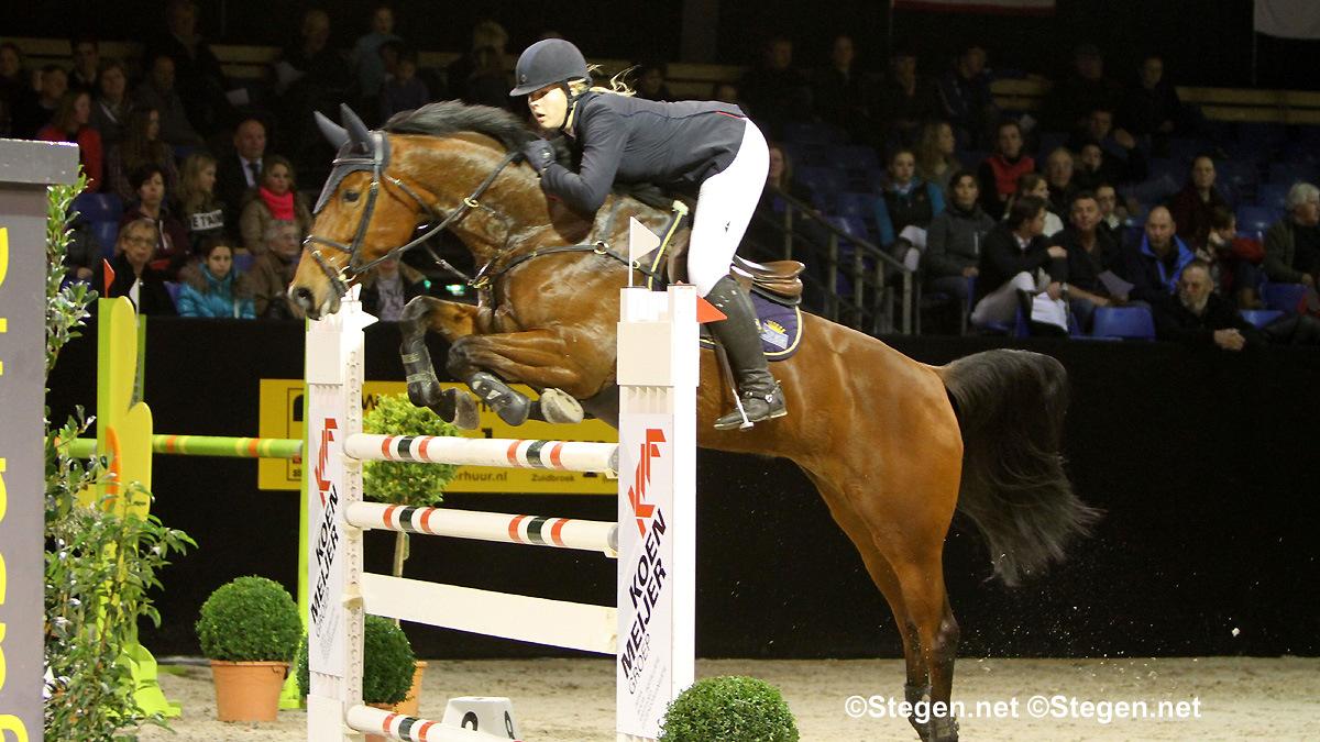 Aniek Diks en Mareille van Geel winnaars bij Indoor Groningen