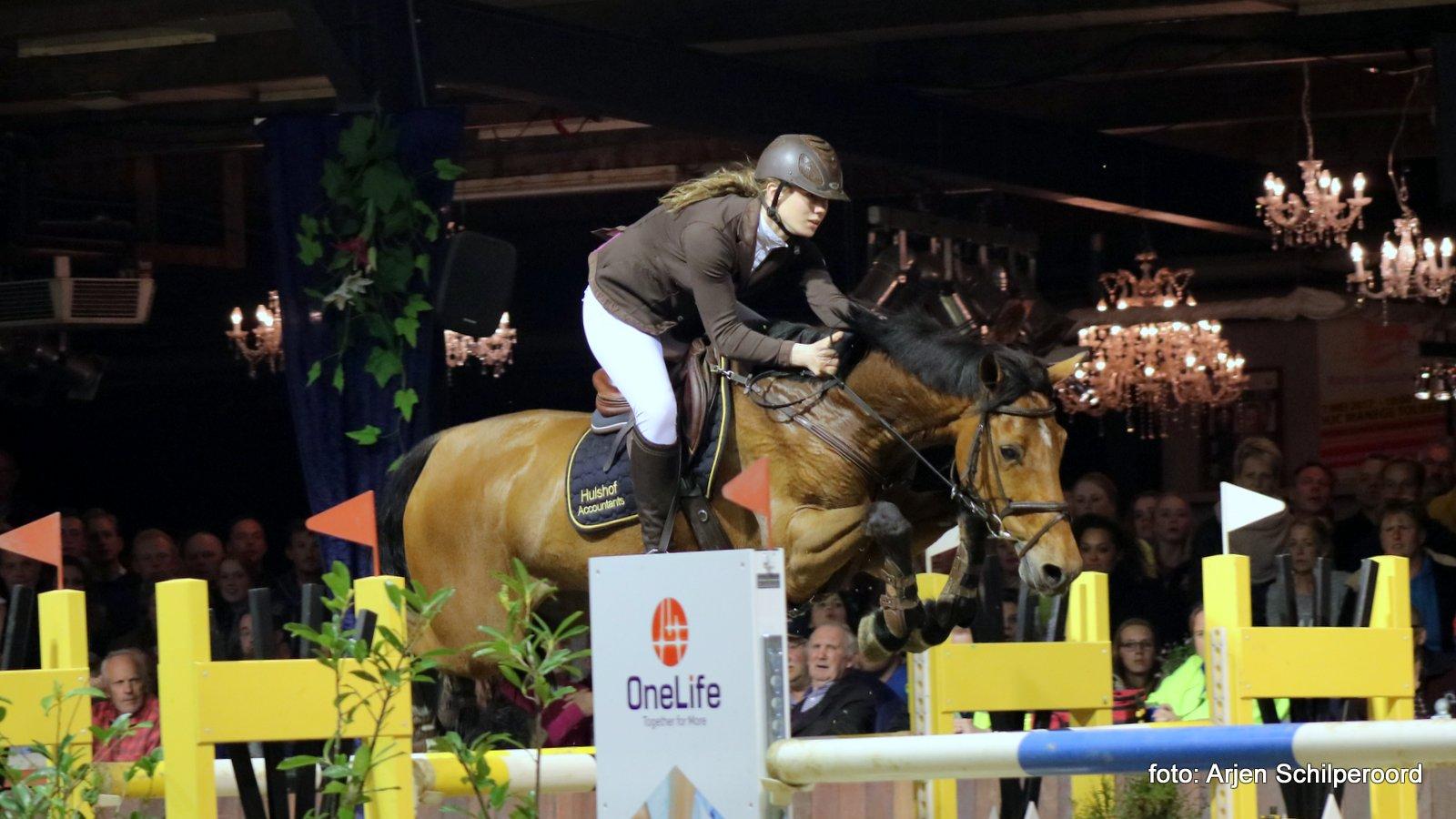 Grote Prijs Indoor Tolbert voor Anne-Lotte Tijhuis