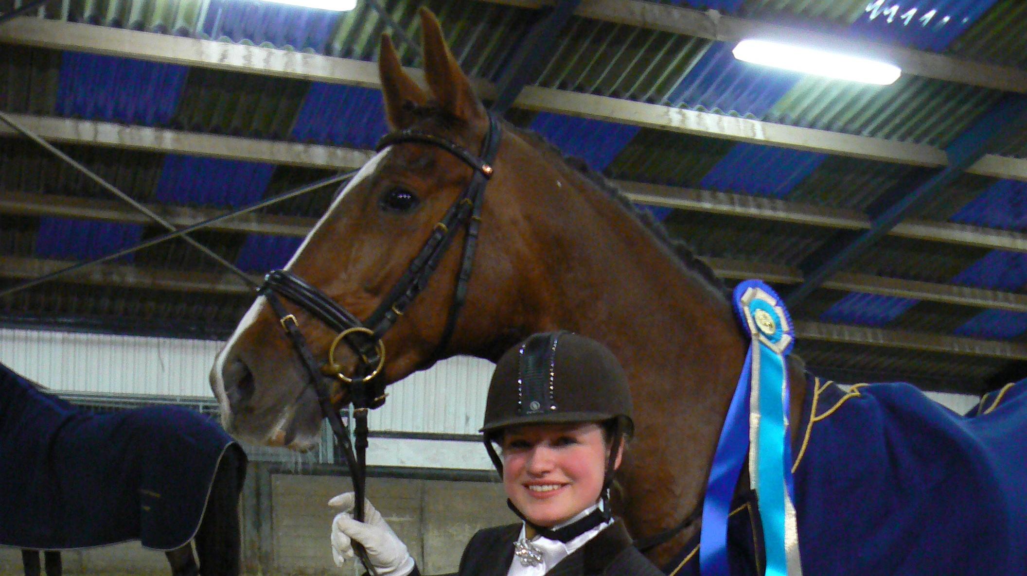 Annemarie Tiktak en Wonder Lady winnen Dollard Dressuur Competitie