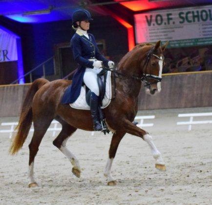 Anouk Noordman met Zeronica.