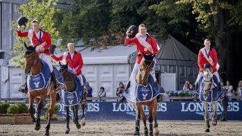 Belgische springruiters Europees kampioen, Nederland achtste