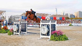 Ben Maher winnaar Global Champions Tour New York