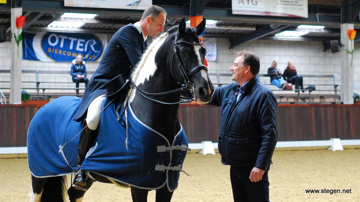 Veronique Roerink en Bennie van Es eerste winnaars op Indoor Tolbert
