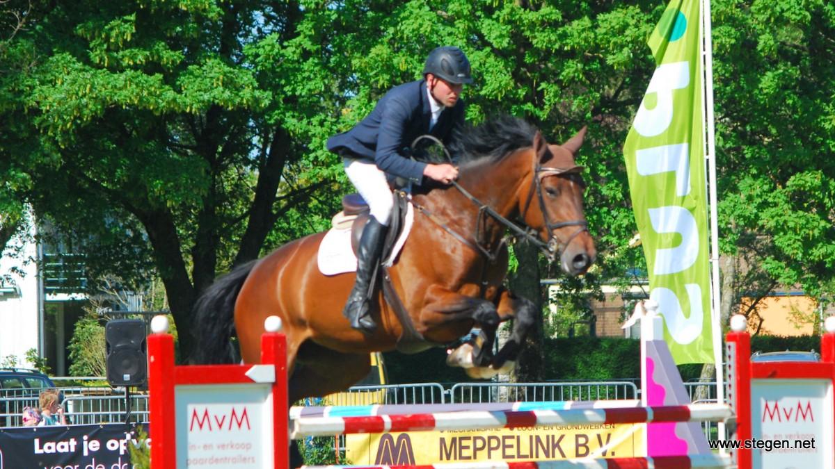 Grote Prijs Outdoor Zuidwolde voor Bert-Jan Zuidema en Fleurabella