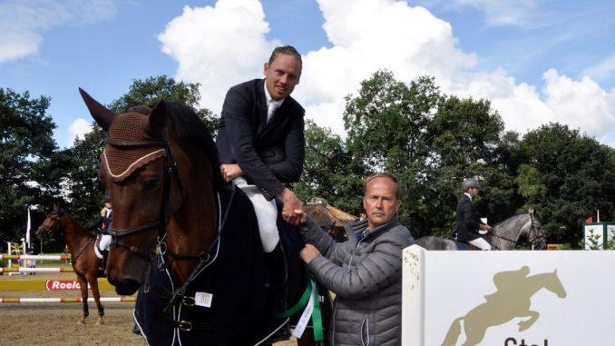 CH De Wolden. Bert-Jan Zuidema met Fleurabella