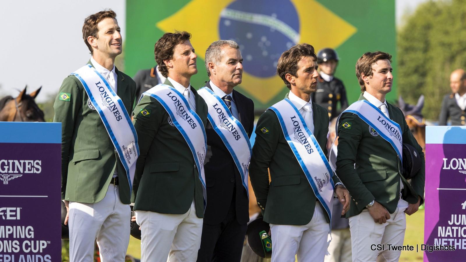 Brazilië wint Nations Cup CSI Twente, Oranje tweede