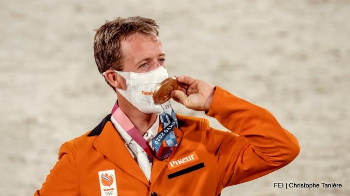 Maikel van der Vleuten en Beauville Z pakken Olympisch brons