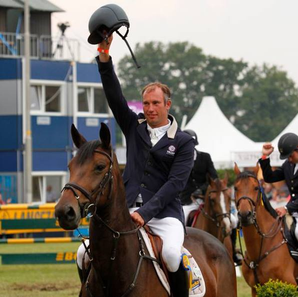 Gert-Jan Bruggink met Vita. ©Hippisch Twente