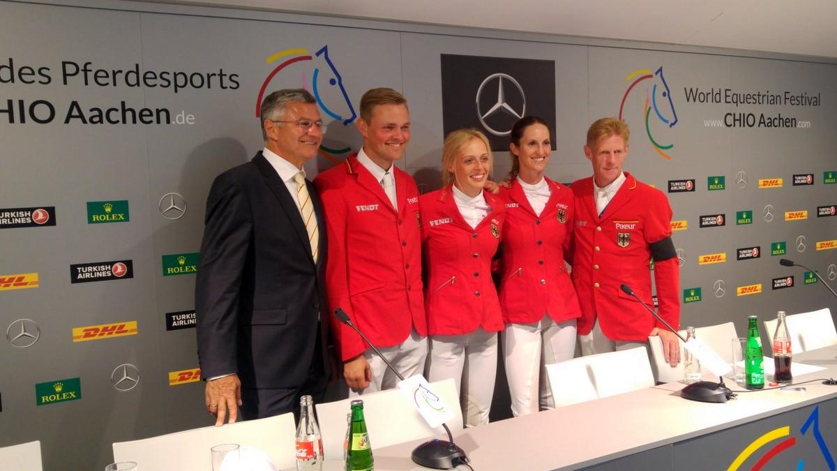 Duitsland wint landenwedstrijd CHIO Aken, Nederland derde