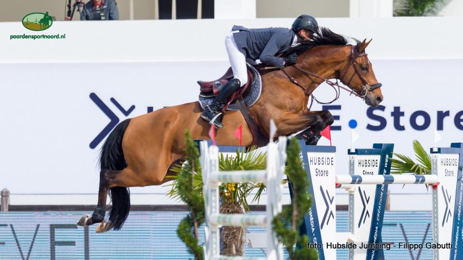 Hubside Jumping - Julien Epaillard met Kosmo Van Hof Ter Boone.