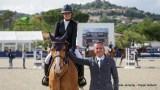 Franse ruiters goed uit de startblokken bij Hubside Jumping