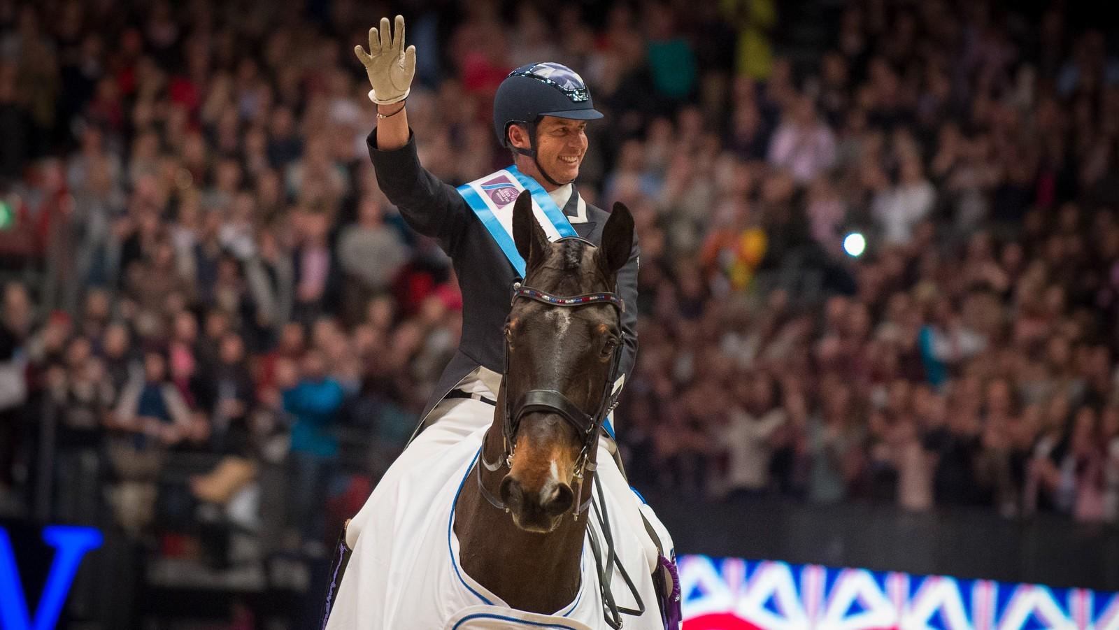 Carl Hester wint wereldbeker Londen, Hans Peter Minderhoud tweede