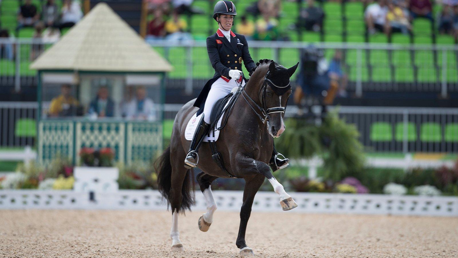 Charlotte dujardin en valegro pakken opnieuw olympisch for Charlotte dujardin