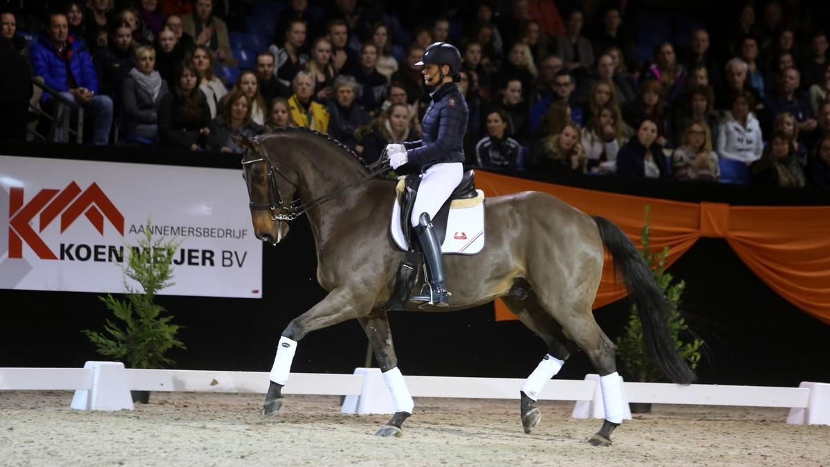 Indoor Groningen: stijlvol afscheid van Ovation van Christa Larmoyeur