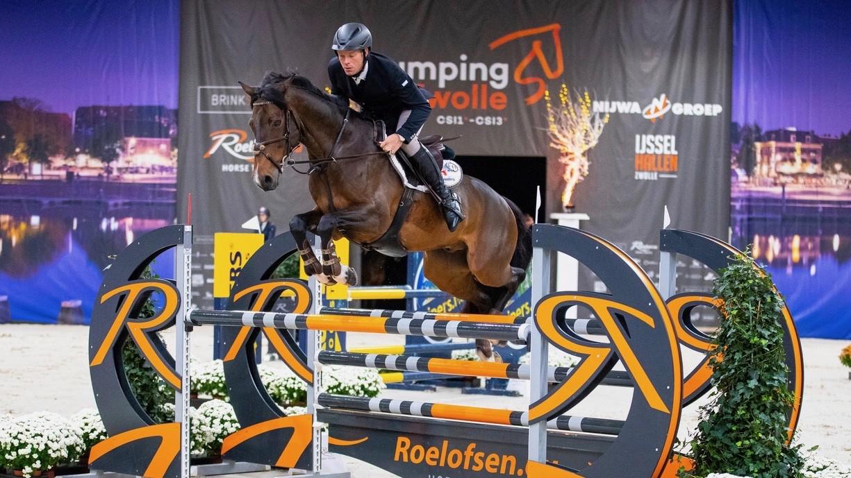 Danny Schaper begint goed bij Jumping Zwolle