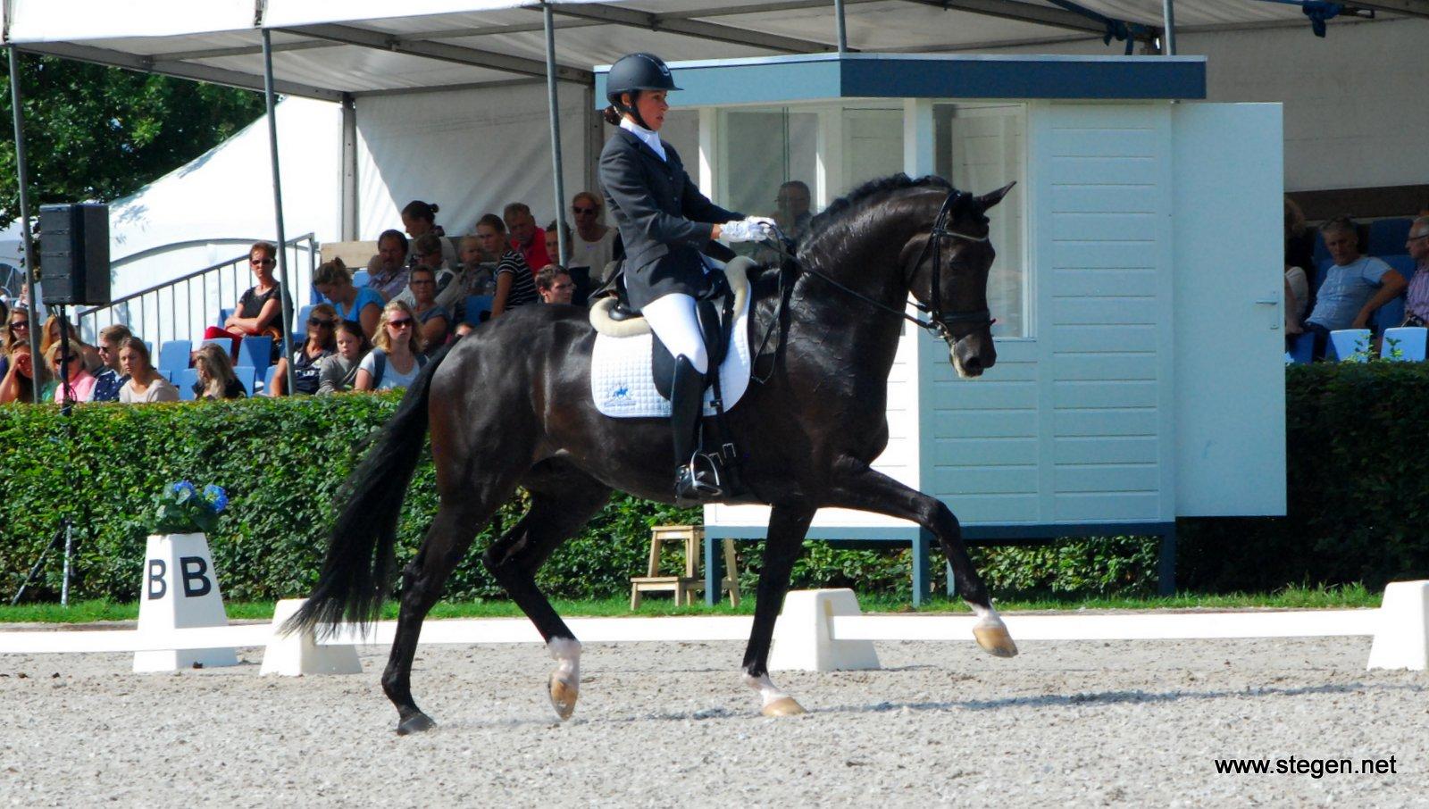 Deborah Dollee en Alibi kampioen ZZ-licht op Hippiade