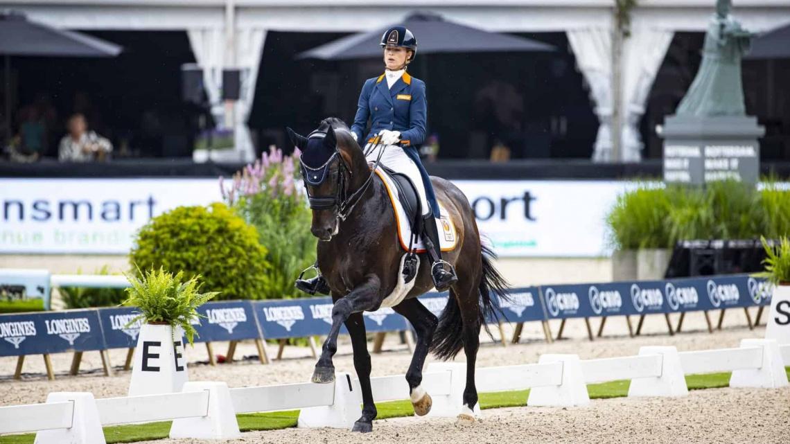 Dinja van Liere houdt hoop op deelname aan Olympische spelen