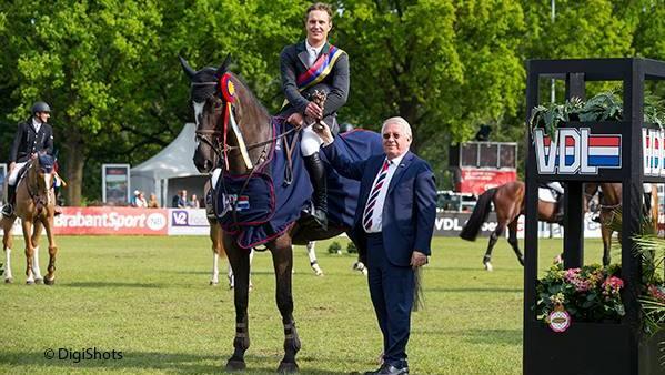 Doron Kuipers won met Zucces de Grote Prijs van Eindhoven.