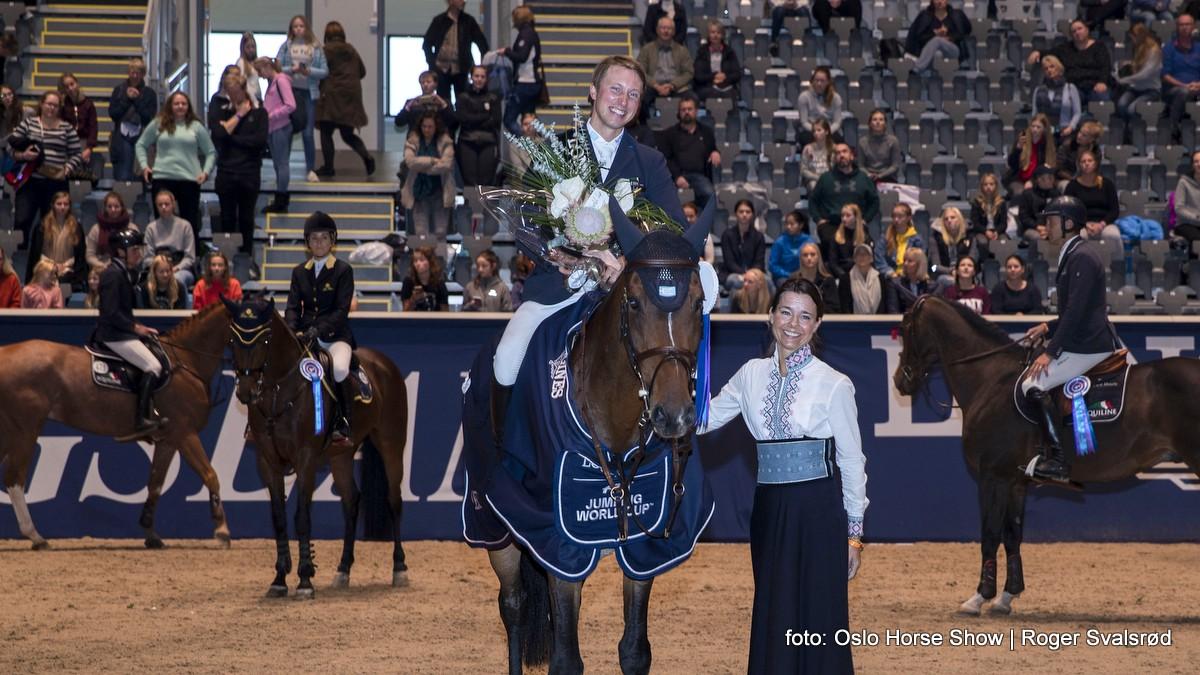 Douglas Lindelöw wint in Oslo eerste wereldbeker van dit seizoen