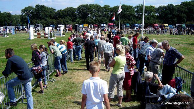 Het Drents kampioenschap in 2007, toen voor het eerst in De Wijk. foto: Steven Stegen