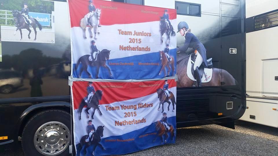 Nederlandse dressuurjeugd klaar voor EK in Vidauban