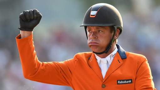 Jeroen Dubbeldam is Europees kampioen.