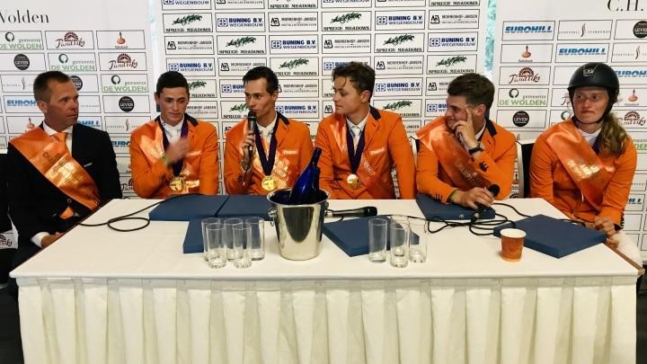 Goud voor team Young Riders: 'hier hebben we van gedroomd'