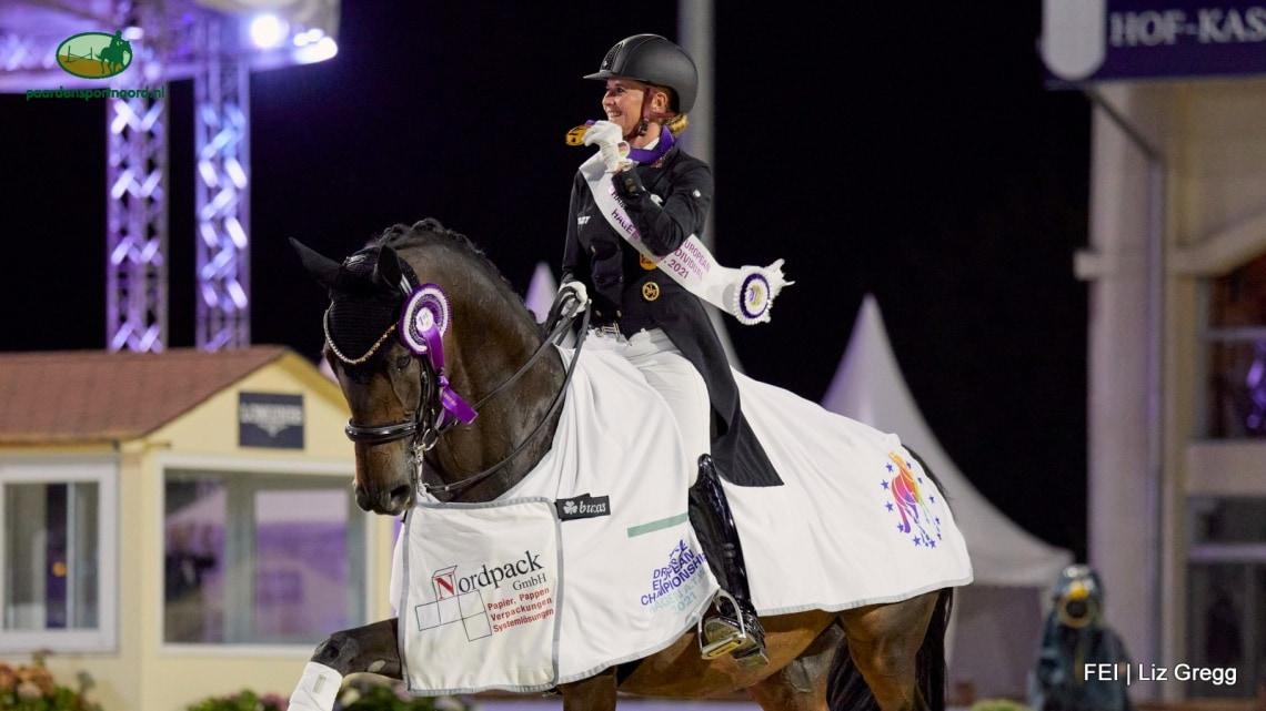 Jessica von Bredow-Werndl Europees kampioen GPS