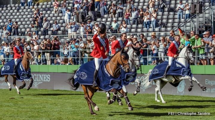 Zwitserland pakt teamgoud op EK springen Riesenbeck