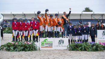 Nederlandse Children pakken historisch goud in landenwedstrijd EK De Wolden