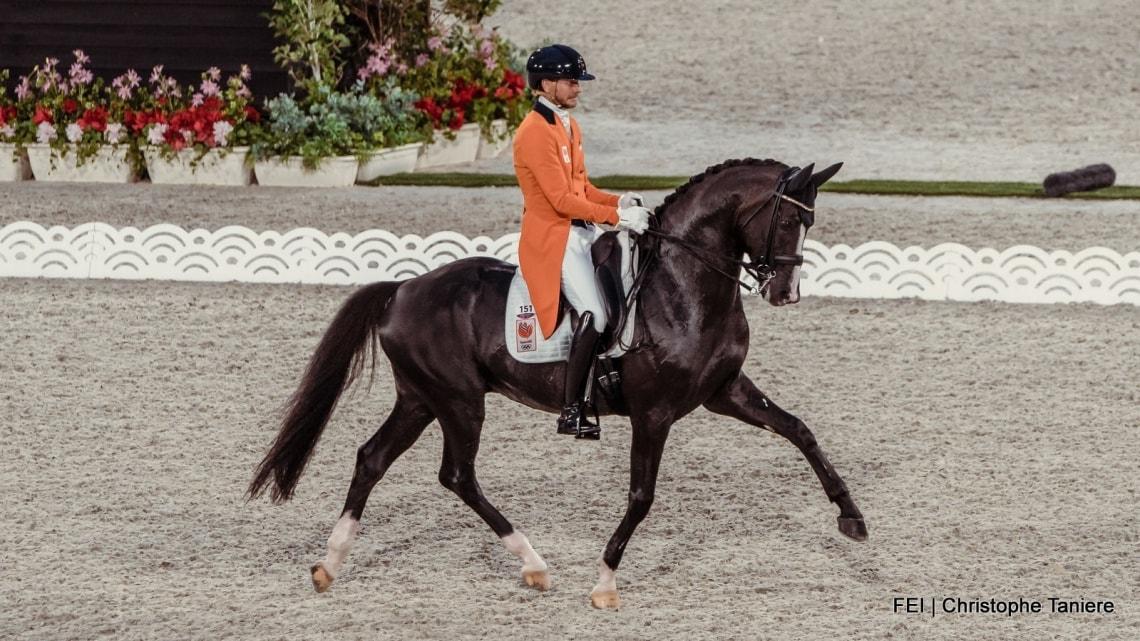 Nederlands dressuurteam vijfde op Olympische spelen