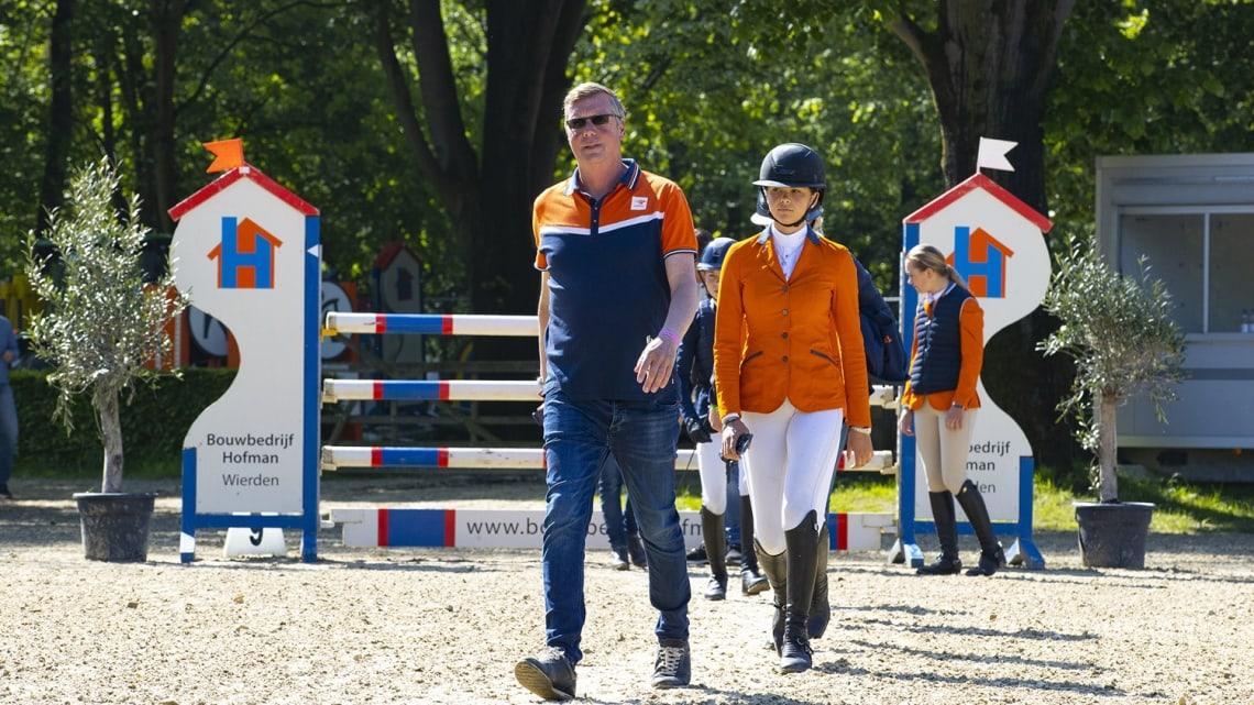 Nederlandse ponyruiters hebben pech bij DYF Wierden