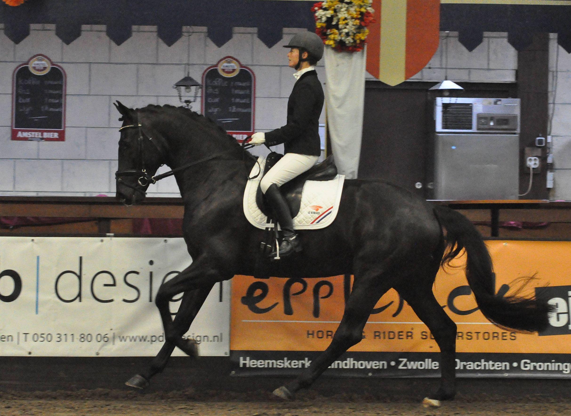 Ellen Wynia eerste winnaar op Indoor Tolbert