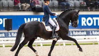 Emmelie Scholtens 'dolgelukkig' met prima debuut op EK Rotterdam