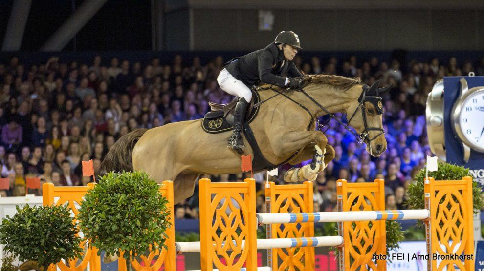 Eric van der Vleuten Wunschkind Jumping Amsterdam