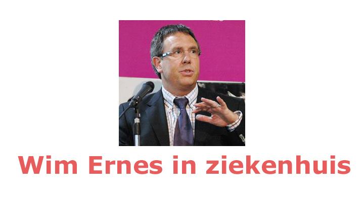 Bondscoach Wim Ernes na epileptische aanval in ziekenhuis