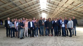 Westerkwartier Paardenkwartier doet inspiratie op bij werkbezoek aan Limburg