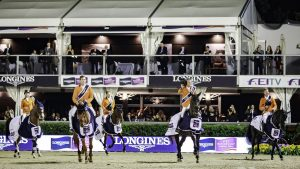 Nederlandse springruiters winnen finale FEI Nations Cup