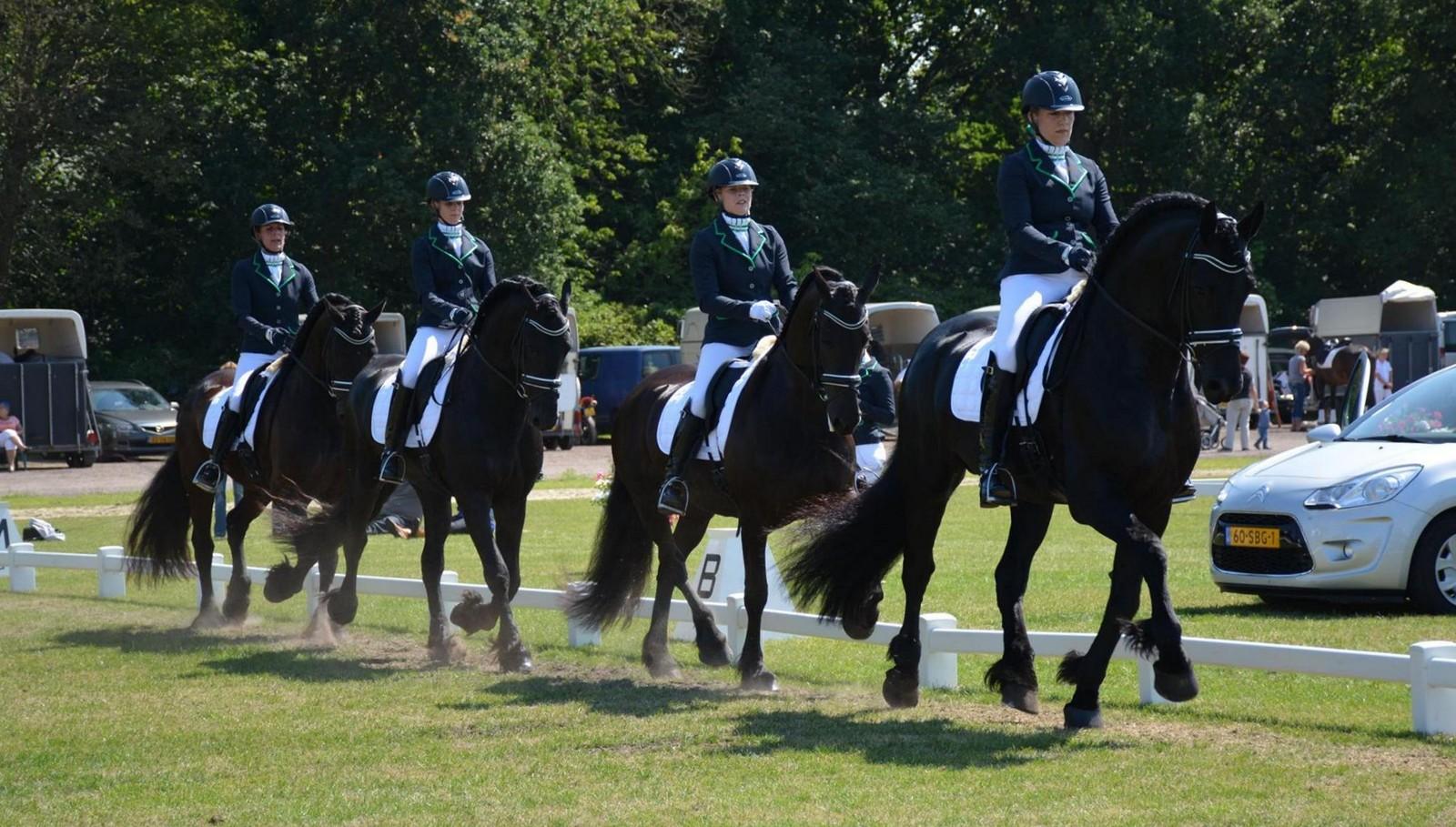 Viertal Friezen van LR Nienoord marcheert naar Groninger titel