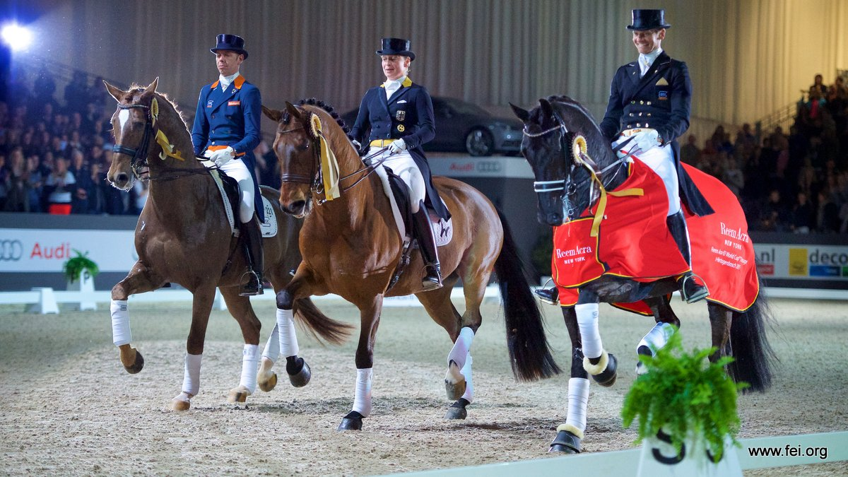 Edward Gal succesvol in dressuurrubrieken Indoor Brabant