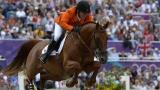 Gerco Schröder behaalde individueel zilver met London bij de Olympische spelen. ©FEI/Kit Houghton